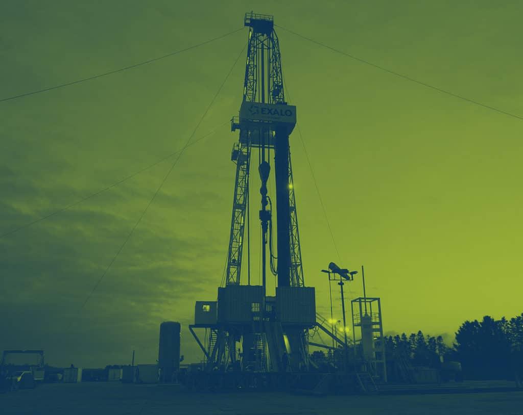 natural gas drill rig